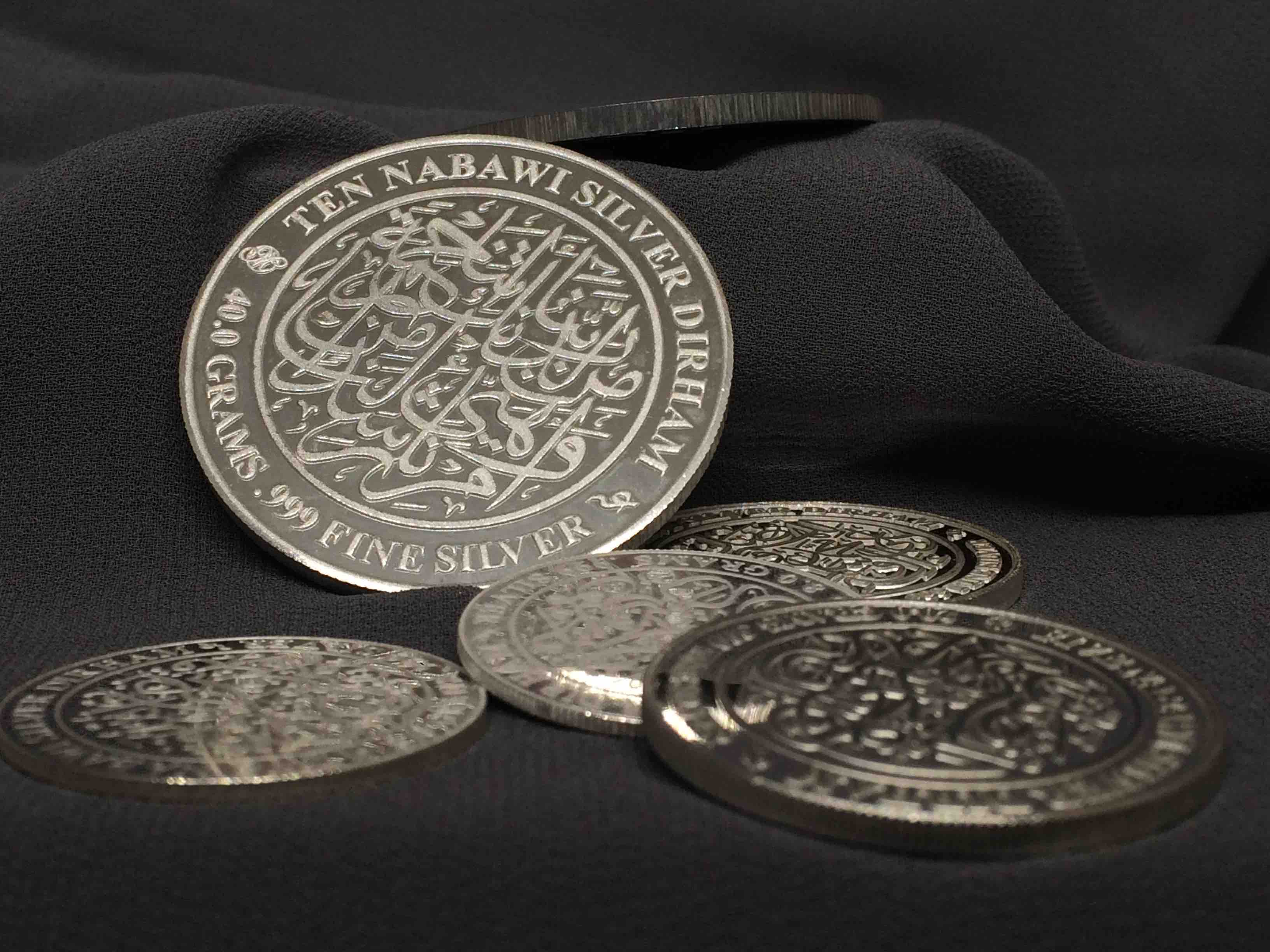 Ten Nabawi Silver Dirham special-occasions