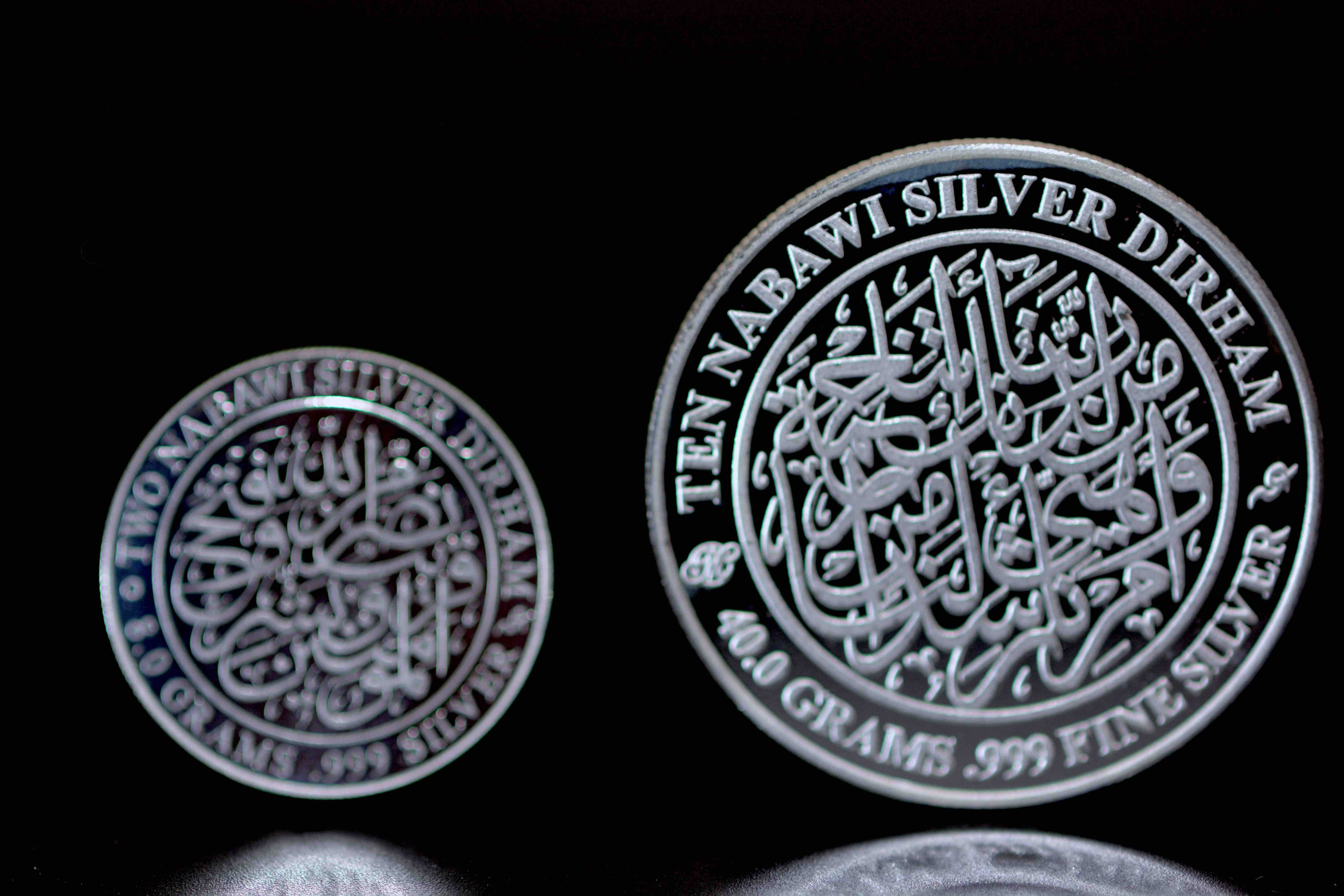 Ten Nabawi Silver Dirham eternal messages