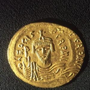 Byzantine Focas Dinar Obverse